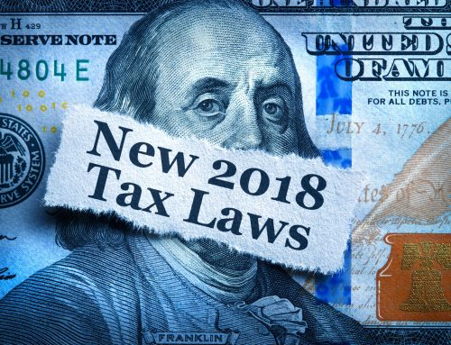 The New Tax Law: Things to Consider